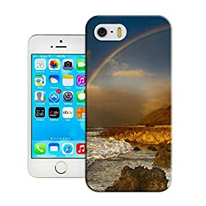 LarryToliver Customizable Hot Sale Seaside landscape Ultra Thin Snap-On Hard Case Fit For iphone 5/5s Cases