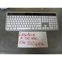 Viziflex's formfitting keyboard cover for Logitech K750 Mac version P/N 812G106