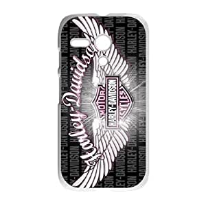 Motorola G Cell Phone Case White Harley Davidson DWX Rugged Phone Case