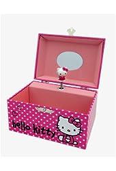 Hello Kitty  Paper Jewelry Box W/ Music In Color Box