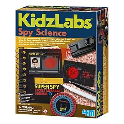 4M Spy Science Secret Messages Kit: Toys & Games