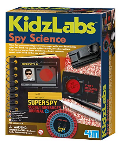 4M Spy Science Secret Messages - Kids X Toys Discovery Ray