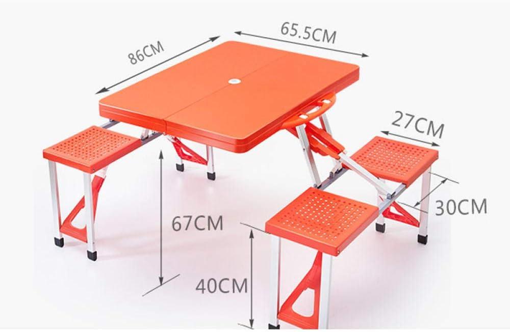DX Mesa Plegable Mueble Coche Auto-conducción Mesa y sillas para ...