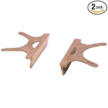 Wilton WMH24408 404 6, Copper Jaw Caps, 6 In Jaw Width