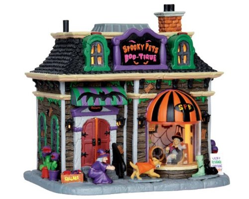 Lemax Spooky Town Spooky Pets Boo-Tique # 45668