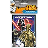 amazon com star wars invitations cards party supplies toys