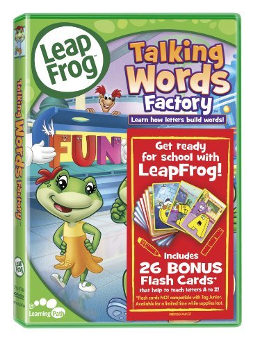 Leapfrog Talking Words Factory - Leap Frog - Talking Words Factory (Reading Skills) (With Flash Cards)