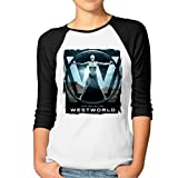 ^GinaR^ Women Middle Sleeve Westworld (2016)7 New Design T Shirt Tops M