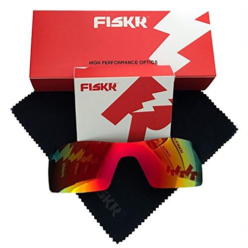 5537c6518fc00 Fiskr Polarized Replacement Lenses for Oakley Jupiter Squared Sunglasses