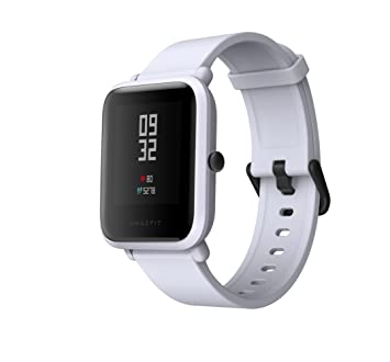 Amazfit Bip Xiaomi Smartwatch Montre Connectée Bracelet GPS de Running Tracker dactivité Cardio Version Internationale Gris