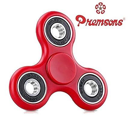 Buy Premsons 608 Four Bearing Fid Spinner Red Black line at