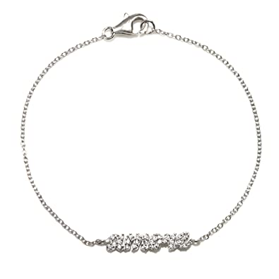 Amazon com: Rhodium Plate Silver French Love