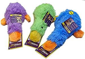 """MultiPet Duckworth Duck Large 13"""" Size:Pack of 2 Color:Assorted"""