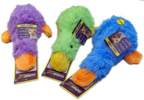 MultiPet Duckworth Duck Large 13″ Size:Pack of 3 Color:Assorted