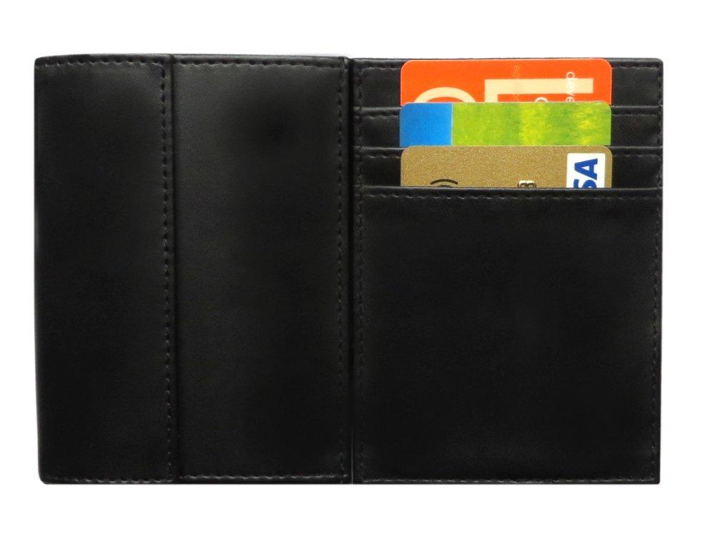 LCDG Portafoglio Magico nero in simili cuoio - magic wallet - porta ...