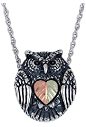 Black Hills Gold Owl Pendant from Coleman