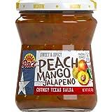 #1: Pace Peach Mango Jalapeño Salsa, Medium, 15 Ounce