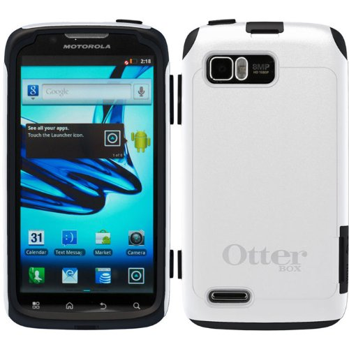 White/Gray OEM Otterbox Commuter Series Rugged Protection for Motorola Atrix 2