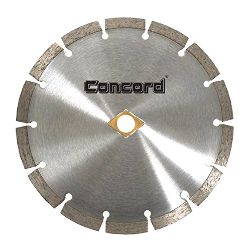 Concord Blades SSB100D10CP 10 Inch General Purpose Premium Segmented Diamond Blade (Masonry Wet Saw)