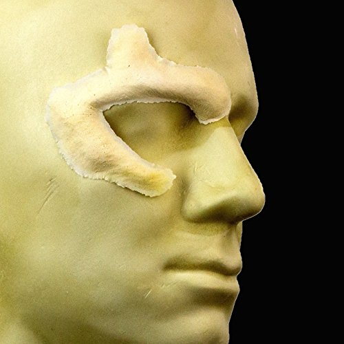 Rubber Wear Foam Latex Prosthetic - Zombie Eye - Right - FRW-073 - Makeup Theater FX