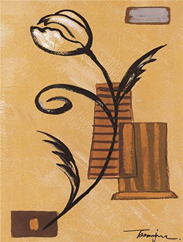 Oil Painting 'Abstract A Flower' Printing On High Quality Polyster Canvas , 20x26 Inch / 51x67 Cm ,the Best Bedroom Gallery Art And Home Gallery Art And Gifts Is This High Resolution Art Decorative Prints On Canvas]()