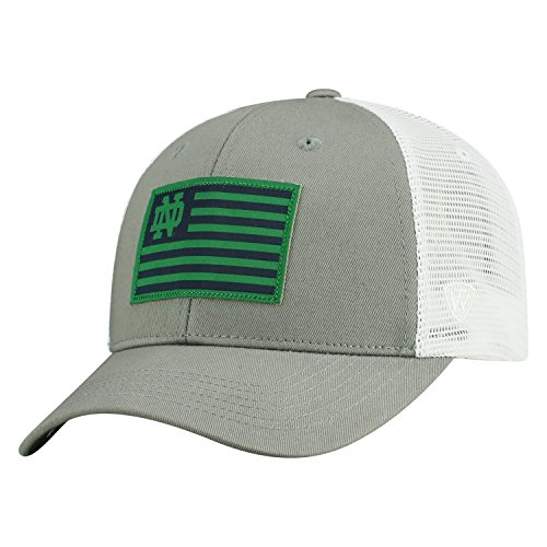 Top of the World Notre Dame Fighting Irish Official NCAA Adjustable Brave Cotton Mesh Trucker Hat Cap 416502