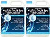 10L of Pro-Kleen Hot Tub, Pool & Spa Filter Cartridge Cleaner - 20 Treatments - Improves Efficiency of Filter - Suitable for all Hot Tubs, Pools & Spas - Deeply Cleans and Removes Oils, Grease and Minerals
