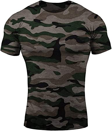 JiXuan Camiseta Sin Mangas Hombre Culturismo Camuflaje Ropa Hombres Fitness Camisa Algodón Musculoso Camuflaje Militar Top