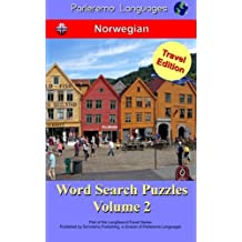 Parleremo Languages Word Search Puzzles Travel Edition Norwegian - Volume 2