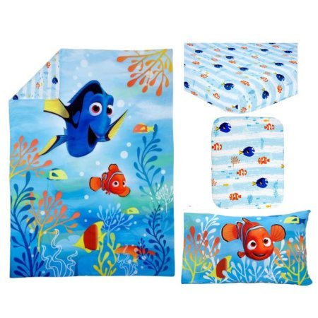 TL 4 Piece Kids Blue Finding Dory Toddler