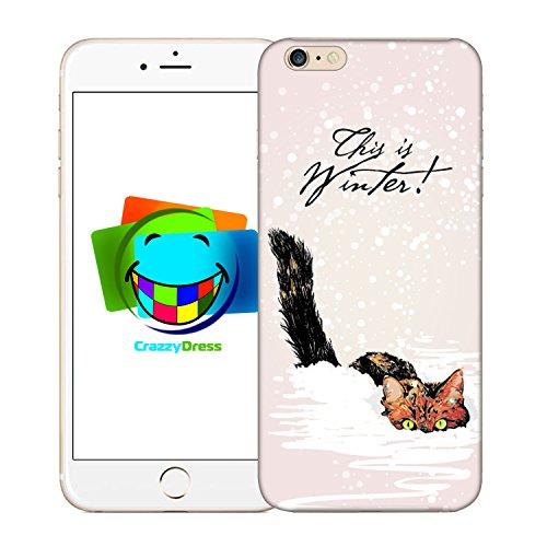 Bralexx 9212#_iPhone_6_6S_Cats_8 Schutzhülle für Apple iPhone 6/6S
