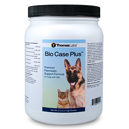 Thomas Laboratories Bio Case Plus 2.2 lbs Digestive Aid f...