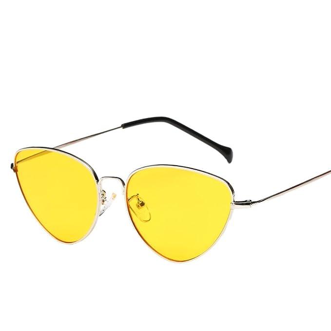 WW Polarisierte Sonnenbrille Damen Outdoor Gläser , Yellow,yellow