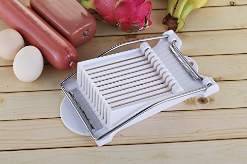 Multi-purpose Food Slicer/big Size Slicer/egg Slicer/soft Cheese Slicer/hot Dog Slicer/ Banana Slicer with 1*Cookbook Lifetime Guarantee (Dog Slicer compare prices)