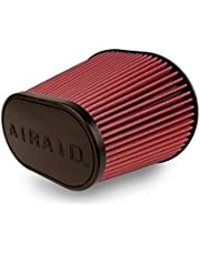 Airaid 721-472 Universal Clamp-On Air Filter: Oval Tapered; 6 Inch (152 mm) Flange ID; 9 Inch (229 mm) Height; 10.75 x 7.75 Inch (273 mm x 197 mm) Base; 7.25 x 4.25 Inch (184 mm x108 mm) Top