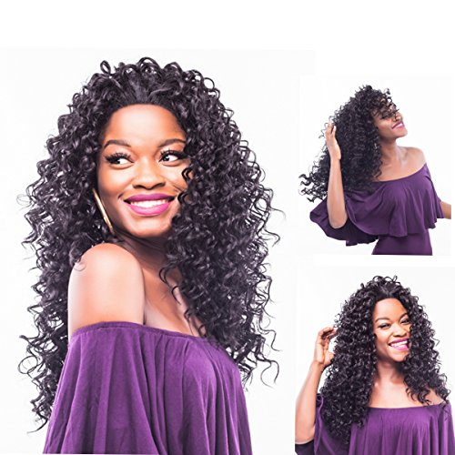 "Search : Wigs for Black Women,28"" Long Curly Lace Front of African American Wigs"