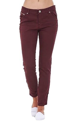 Pantalones Vaqueros para Mujer - Estilo Jeans Colombianos - Corte Entallado - Tejido elástico