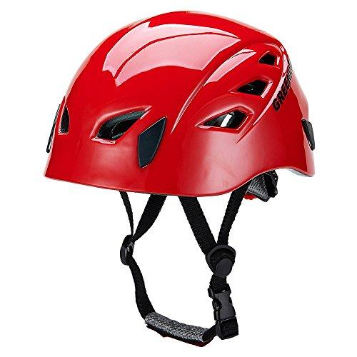 GREENROAD In-Mold Adjustable Unisex Mountain Climbing Helmet Rock Climbing Helmet
