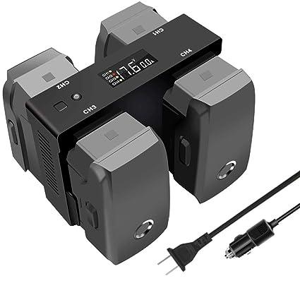 Amazon.com: Tercel - Cargador de batería y cargador de coche ...