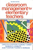 Classroom Management for Elementary Teachers, Evertson, Carolyn M. and Emmer, Edmund T., 0131364588