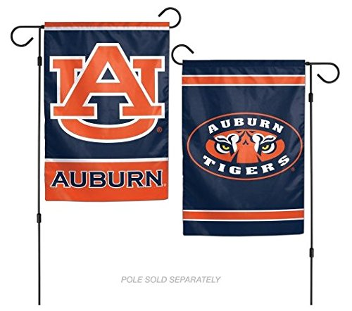 WinCraft NCAA Auburn University Tigers 12x18 Inch 2-Sided Outdoor Garden Flag Banner - Ncaa Tailgate Flag
