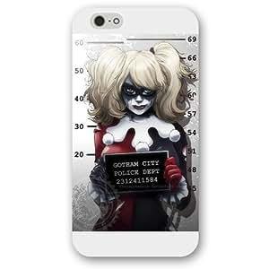 "UniqueBox Harley Quinn Custom Phone Case for iPhone 6+ Plus 5.5"", DC comics Harley Quinn Customized iPhone 6 Plus 5.5 WANGJING JINDA"