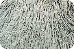 Gray Frost Mongolian Faux Fur Extra Large size 36\