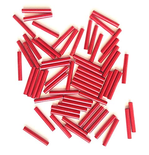 20pcs 3M Round Aluminum Column Post 47mm 44mm 35mm 20mm 6mm 3mm red Rack Universal for DIY UAV RC Drone Quadcopter Frame kit   3MM