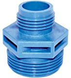 Little Giant 599025 GH-3/4 1-1/4-Inch MNPT by 3/4-Inch GHT Discharge Adapter