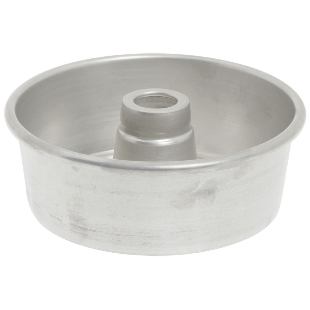 Bundy Chicago Metallic Aluminum Angel Food Cake Pan - 7 1/2'' Dia x 2 3/4'' D