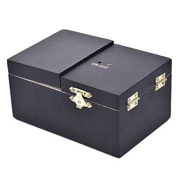 Caja de almacenamiento de madera vintage caja de regalo caja de madera - caja de joyería de madera caja de cosméticos caja de almacenamiento de joyas, ...