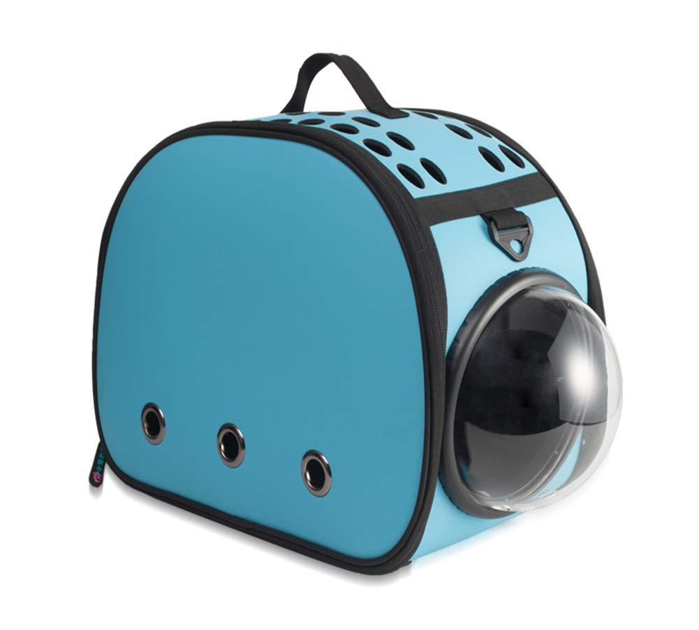 5 YQQY Pet Carrier Portable Foldable Cat Dog Travel Bag Space Capsule Design Bubble Backpack Breathable Fashion Shoulder Handbag Pet Backpack