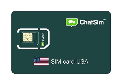 Tarjeta SIM internacional para viajes a ESTADOS UNIDOS y en ...
