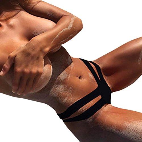 e Sexy Push Da da perizoma Bagno Up da Bikini spiaggia Nero Pantaloni Sportivi bikini bagno con bikini Costumi sexy Beachwear donna Costume Yanhoo qvnpxHa